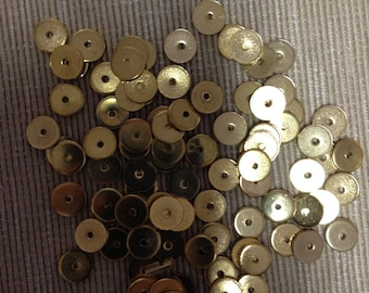 Gold Disc Spacers