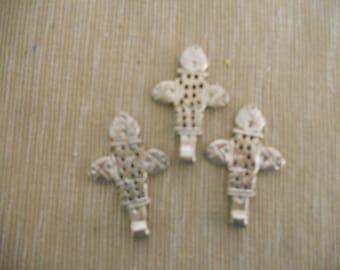 Three Silver Crosses