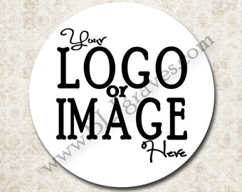 Custom Stickers, Personalized Sticker Labels, Round Sticker Labels