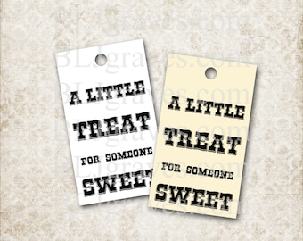 Tags Homemade Baked Goods Food Gifts Label Holiday Party Favor Treat Bag
