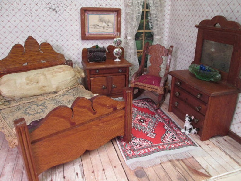 Star Novelty Works American Toy Furniture - Bedroom Set - 1\