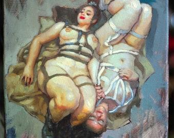 Yin Yang - 11x14in Oil Painting