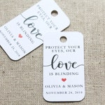 Protect Your Eyes Tags | Sunglasses Tags | Wedding Favors | Bridal Shower Favor | Sunglasses Favor | Favor Tags | Bright Future Tags (014)