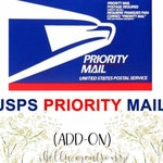 PRIORITY MAIL  UPGRADE - add on to exsisting order. Shipping Upgrade - Rush Orer Not Included!