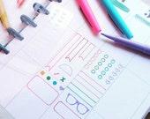 Planner stencil. Planner decorations ECLP Filofax Kikki K Webster Pages Happy Planner Travelers Notebook. Travelers Notebook Stencil - 1.0