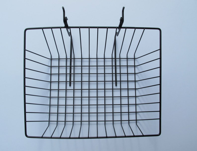 Sloping grid display baskets  set of six image 0