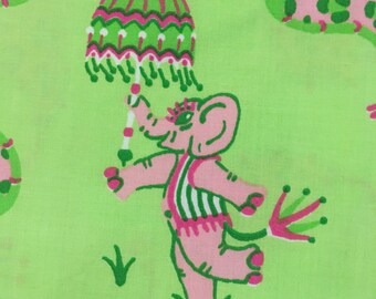 """Elephants on Parade - Lime - 50"""""""