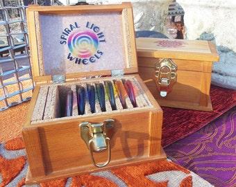 Spiral Light Wheel Chakra Set