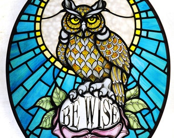 """Be Wise """"Owl"""""""