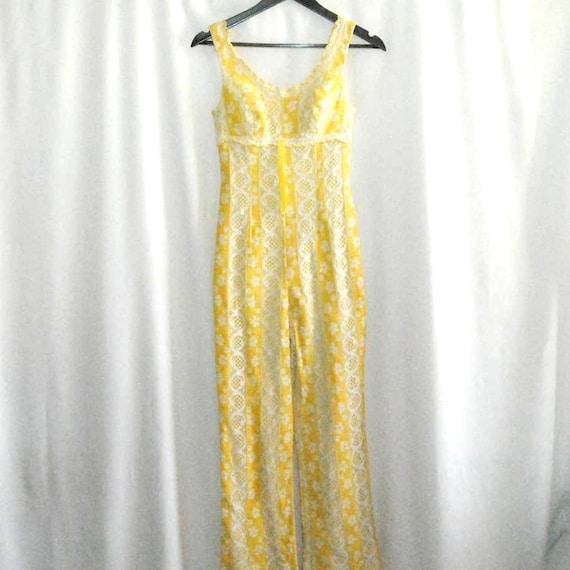 Vintage 1960's Lace Jumpsuit