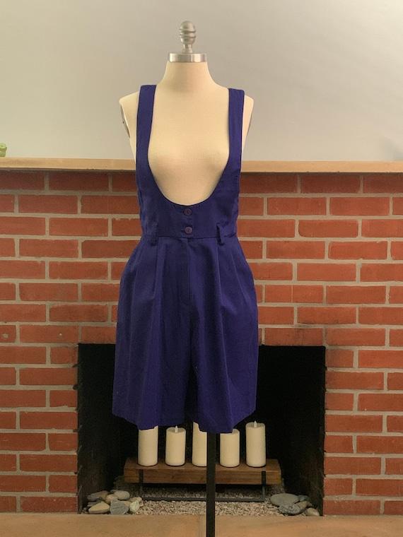 Vintage Purple Romper