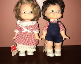 Campbells soup dolls
