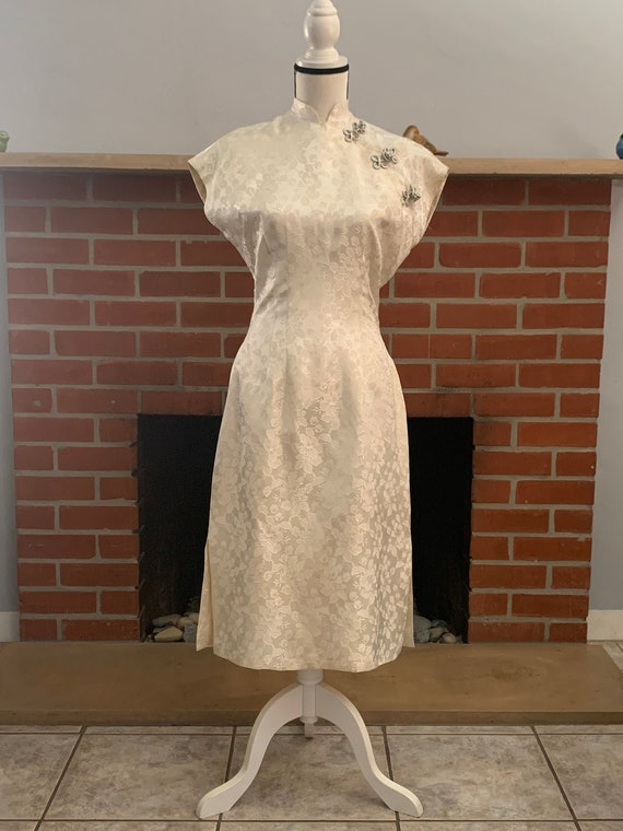 Vintage Chinese Inspired Dress