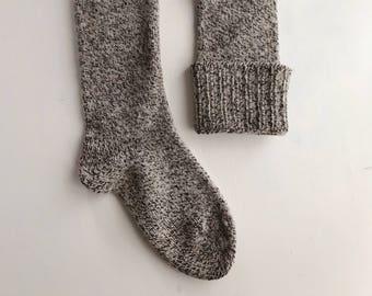 1960s/70s Marled Wool Camp Socks