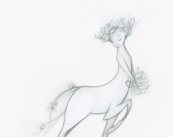 The Unbridled Bride signed print