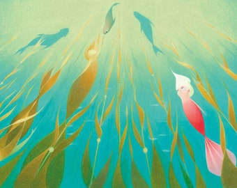 Pearl: Kelp forest- limited edition signed print