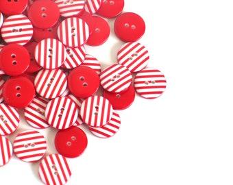 50 Verschiedene Farbe Nähen Knöpfe Für Scrapbooking Etsy