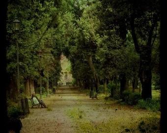 Il Giardino Segreto, The Secret Garden I, Fine art photograph, 8x8 print