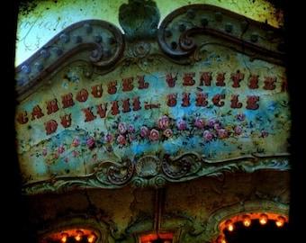 Carousel II, The Abandoned Amusement Park, Fine art photograph