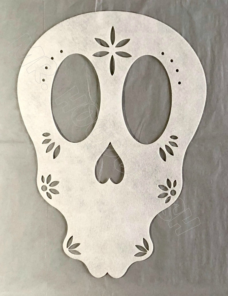Stencil Set Day of the Dead (Dios de Muertos) by Mr Hoodbrush Custom  Stencil Set Laser Cut from Pellon