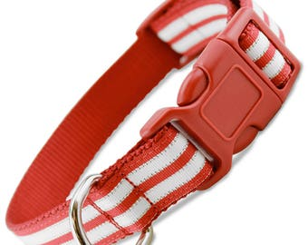 Peppermint Bling Holiday Dog Collar