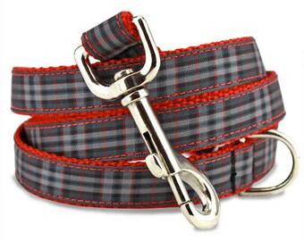 Plaid Dog Leash, Pride of Scotland Tartan