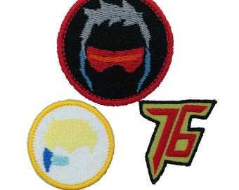 Soldier 76 Patches