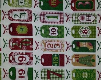 Advent Fabric by Joann Fabrics (by the yard)