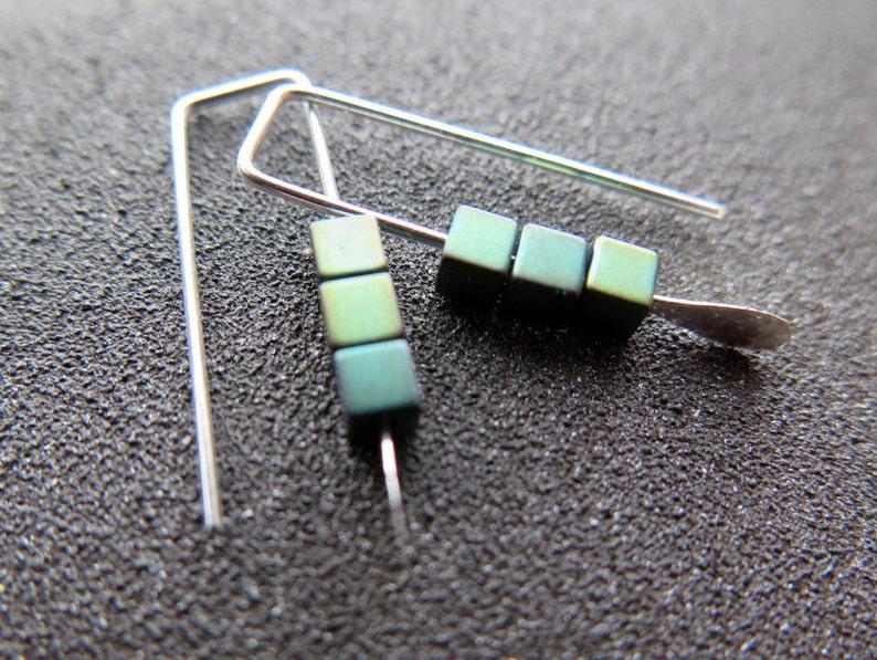 小赤铁矿耳环