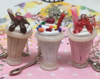 Milkshake Necklace