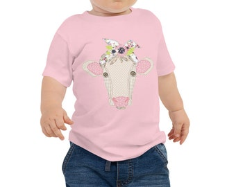I Love Jesus Cow Shirt But I Fuss a Little Toddler T-Shirt Mommy and Me.