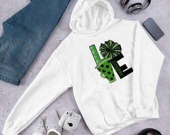 Free shipping | Unisex Carroll dragon hoodie | Football | Cheer | Few colors left
