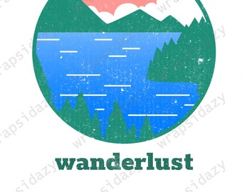 Wanderlust | Adventure Awaits | Explore More | The Great Outdoors | digital download | sublimation file | digital image | ready for download