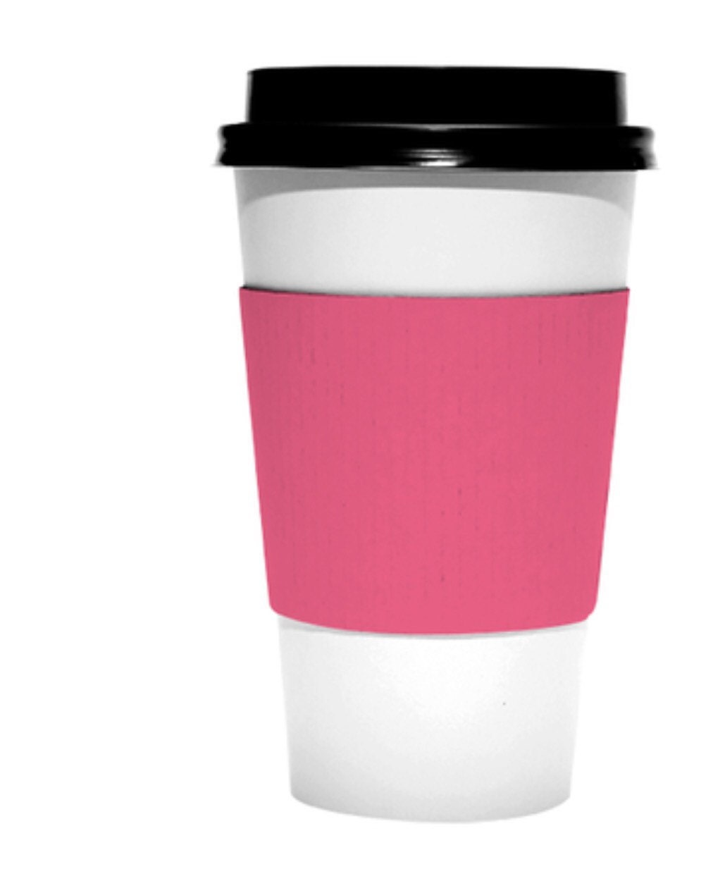 Blanks Pack of 15 coffee or hot chocolate cup wraps sleeves