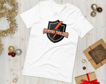 Free shipping!  Super Power Walker t shirt | Short-Sleeve Unisex T-Shirt | gym shirt | Bella Canvas