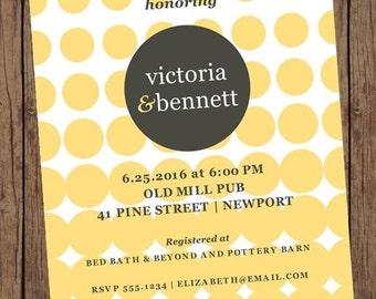 Wedding Shower Bridal Shower Invitations - 1.00 each with envelope