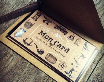The Man Card Challenge Card Set
