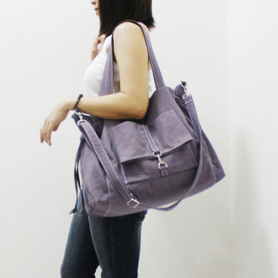 8e782adaa41 FREE SHIPPING Gray Shoulder Bag Personalized Gifts Tote   Etsy