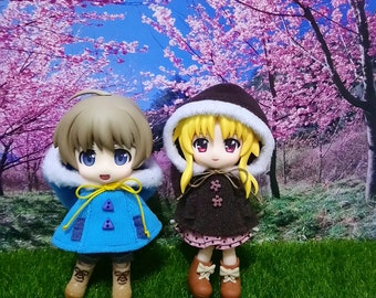 Hooded Cape for Cu-Poche / Nendoroid