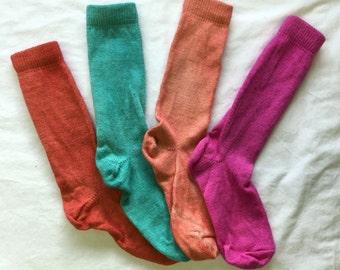 Alpaca socks (Ladies) 100% grown and manufactured in Pennsylvania