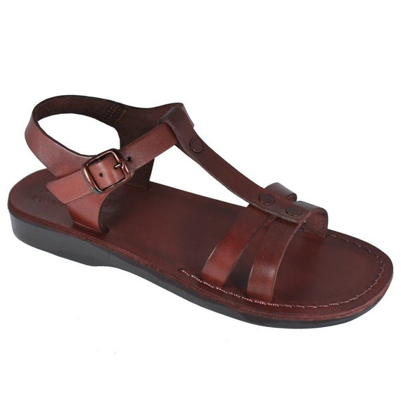 Leather Handmade Leather Leather New Flip amp; Brown Sandals Sandals Unisex Flats Sandals Women Sandals Oliver Brown Flops For Men 8xwqH7x1