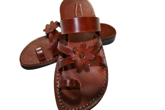 def68d4d3 ... Unisex Leather cross Sandals Leather Flip Sandals Sandals Jesus amp  Sandals  Women Genuine Sandals Handmade ...