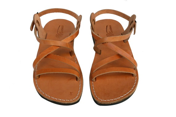 Flop Sandals Caramel For Sandals Genuine Leather Leather Men Sandals Jesus Unisex Sandals Star Flip Handmade Sandals amp; Women EqqPSFxgn