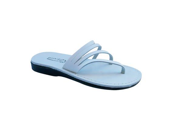 White Wedding Flops Leather Sandals Flip Sandals Men Leather For Jesus White Women Leather Rainbow Sandals Handmade amp; Sandals Sandals 6rP6qgBw