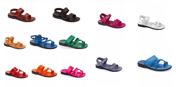 Decor Flip Women amp; Sandals Sandals Brown Leather Jesus Sandals Sandals Triple Handmade Unisex Flop For Men Leather Sandals Genuine SwpPdq0