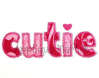 Items similar to machine embroidery design applique wave instant