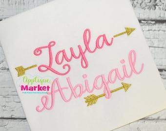 Machine Embroidery Design Font  Monogram Harper Alphabet INSTANT DOWNLOAD
