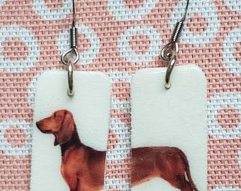 Weiner Dog Earrings