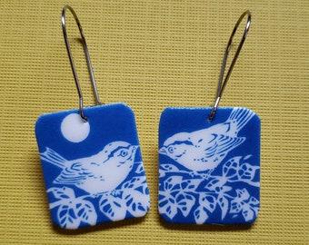 Little Birds in a Tree Earring