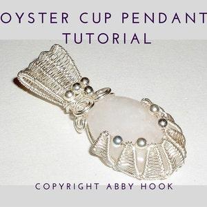 PDF File instant download with bonus chain tutorial Aquarius Vase Pendant Wire Jewelry Tutorial